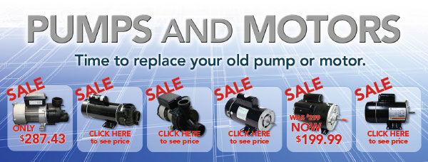 Replacement Pumps and Motors