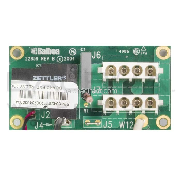 balboa circuit board ext relay 2output us 53426. Black Bedroom Furniture Sets. Home Design Ideas