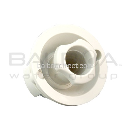 Balboa Direct Clearance Item - Balboa Eyeball Assembly Pro Jet 100% Shutoff  (White) (2110115001)