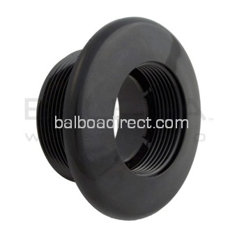 Balboa Fitting, Standard Wall Suction (30-3801BLK)