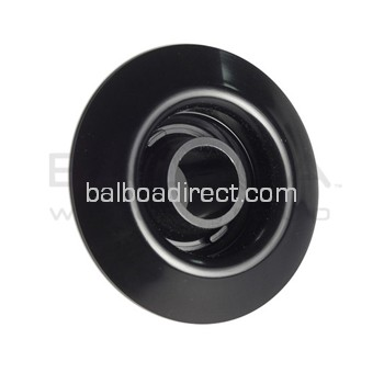 Balboa Spa Extended Venturi Tee Wall Fitting Assembly (Black) (50-3420BLK)
