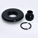 Balboa Bath Builder Escutcheon & Eyeball Assembly (10-3955BLK)