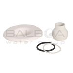 Balboa Bath Builder Escutcheon & Eyeball Assembly (10-3955WHT)