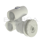 Balboa Spa Bath 1 X 1 Micro Magna Flow Assembly (10-4940WHT)