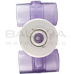 Balboa Spa Hydro Jet 11/2 x 11/2 Extension Fitting Thread Length (White) (10-5300WHT)