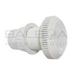 Balboa High-Volume Suction Fitting, Extended (10-6830WHT)