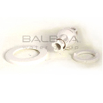 Balboa Bath FS Adjustable Trim Kit White (10-FS00TA WHT)