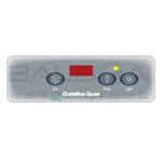 Balboa Spa Overlay Panel Cat100 Lt D No/Bl Lo (11005)