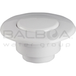 Balboa Bath Air Button - Flat Trim Kit - Classic White (13030-CW)