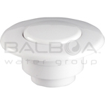 Balboa Bath Air Button - Flat Trim Kit - White (13030-WH)