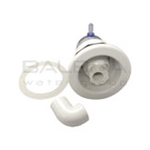 Balboa Spa VSR Directional Jet Assembly with 90 Degree Elbow (White) (16-5730WHT)