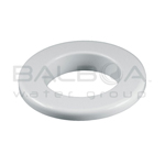 Balboa Bath Flat Tr Plstc Escutcheon Fits Over 25 (25430-WH)