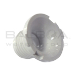 Balboa Spa Duo Directional Eye Jet Round Grill Fitting (White) (36-3920EXT WHT)