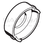 Balboa Spa Micro Adj VSr Lock Ring White (36-9094WHT)