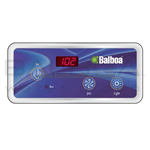 Balboa Generic Spa Panel VL404/Duplex Digital Panel (1 Jet Button, No Blower, Lite) LED (51225)