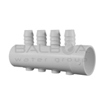 Balboa Bath And Spa 4-Port Barb Manifold 1.5I (72083)