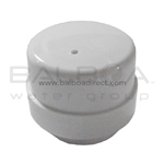 Balboa Bath Air Button For Metal Cap (PBC1-WH)