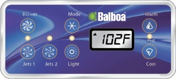 VS Series Topside Panel Reference Guide (Page 2) - Balboa Direct on